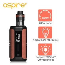 font b Electronic b font Cigarette Aspire Speeder Revvo Kit 200W Speeder Mod With E