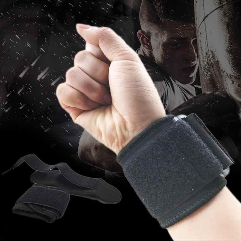 2 шт. Регулируемый напорный спортивный браслет мягкий и дышащий бадминтон защита запястья анти-лодыжки намотка баскетбольный браслет