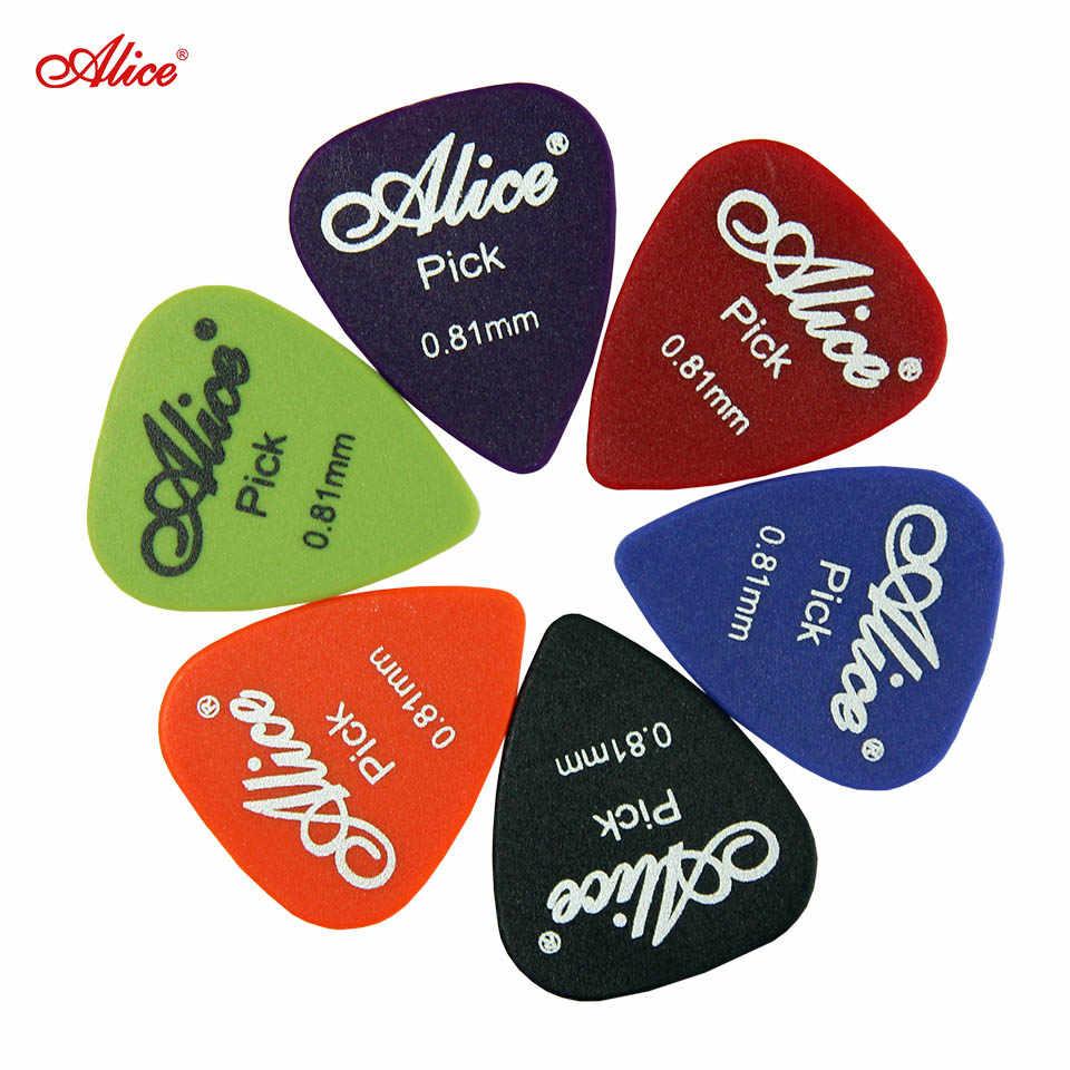 Alice 50 sztuk gitary basowe, wielu gładka ABS niestandardowy akustyczna gitara elektryczna Plectrums akcesoria do instrumentów muzycznych Puas