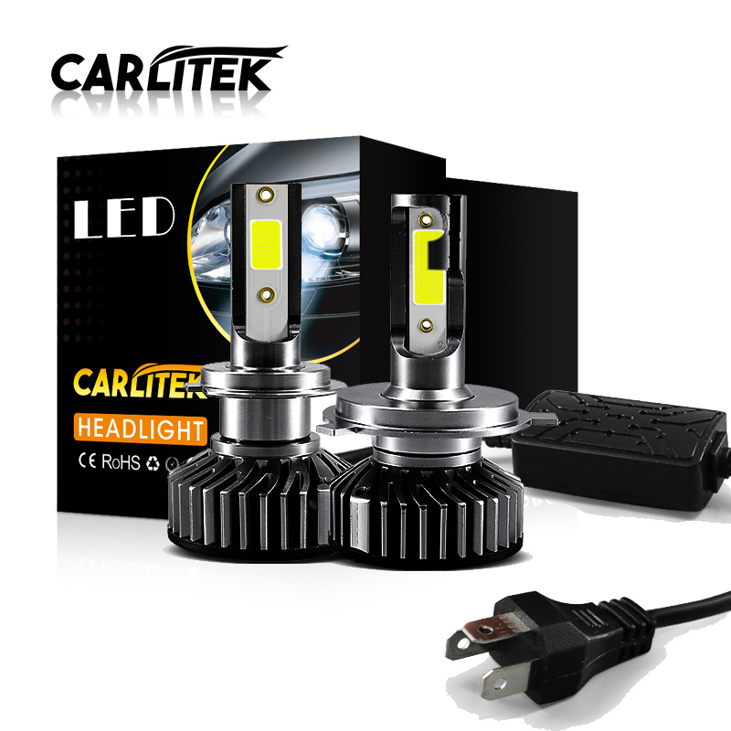 CARLitek <font><b>10000LM</b></font> H7 H11 HB3 HB4 H 4 Car Headlight Auto Led Lamps 12v COB Chip 4300K 5000K 6000K 8000K Mini Bulb Led Headlamp image