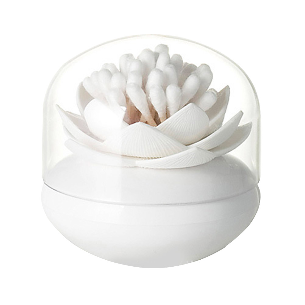 1pcs Cotton Swab Storage Box Toothpick Box Cotton Swab Case Holder Toothpick Container Cosmetic Makeup Organizer Box