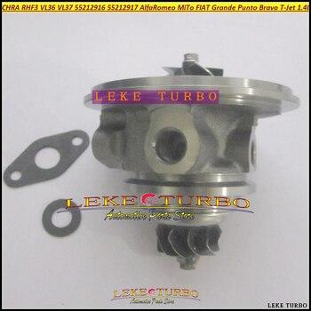 מגדש טורבו מחסנית Core RHF3 VL36 VL37 עבור Lancia דלתא מיטו פונטו בראבו T-jet 16 V 1368ccm 198A4000 88kw 120HP גז 55212916