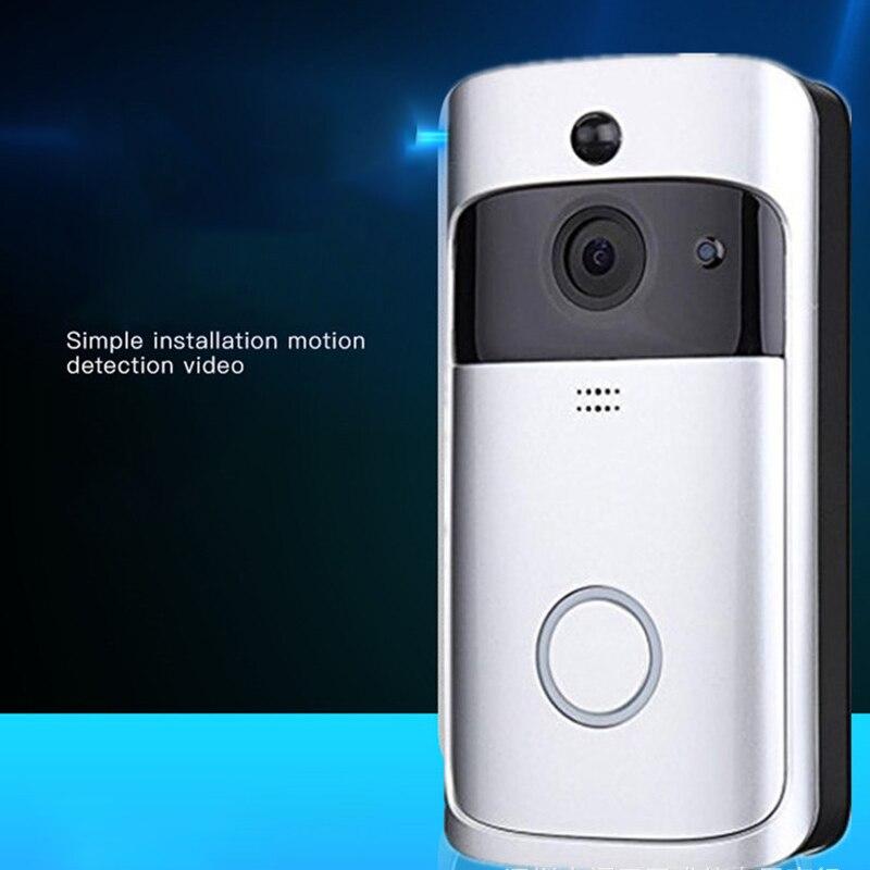 Smart Wireless Doorbell WiFi Security Eye Door Bell Visual Remote Monitoring Home Smart Door Bell Visible