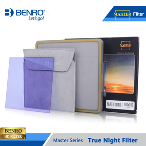 Image 5 - Benro 100*100mm 150*150mm Master True Night Filter Square Plug Filters Night Sky Photography Waterproof Optical Glass Free