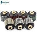 Бесплатная доставка Сухие алмазные барабанные колеса 2 дюйма M14 резьба для полировки и шлифовки отверстия для раковины гранит и мрамор