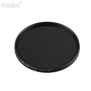 ND2-400 Neutral Density Fader Variable ND filter Adjustable 49/52/55/58/62/67/72/77/82mm for Canon Nikon Sony Pentex Camera