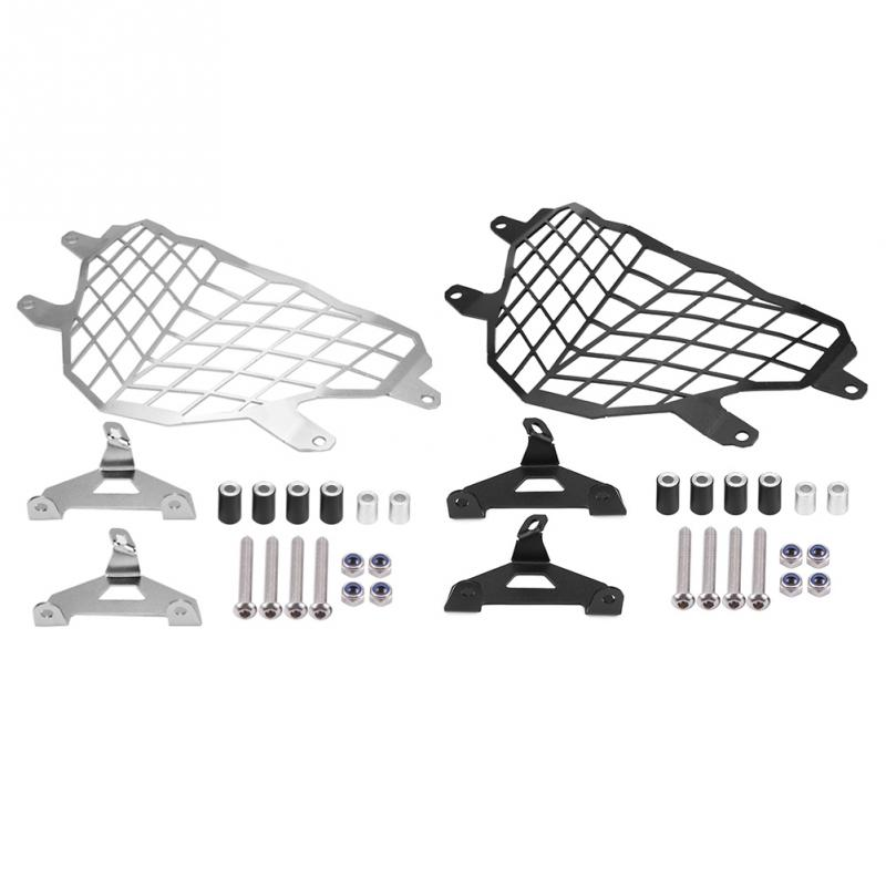 Motorcycle Headlight Mesh Grill Side Mount Cover Mask Protector for BMW G310GS 2017 2018 Aluminum Alloy