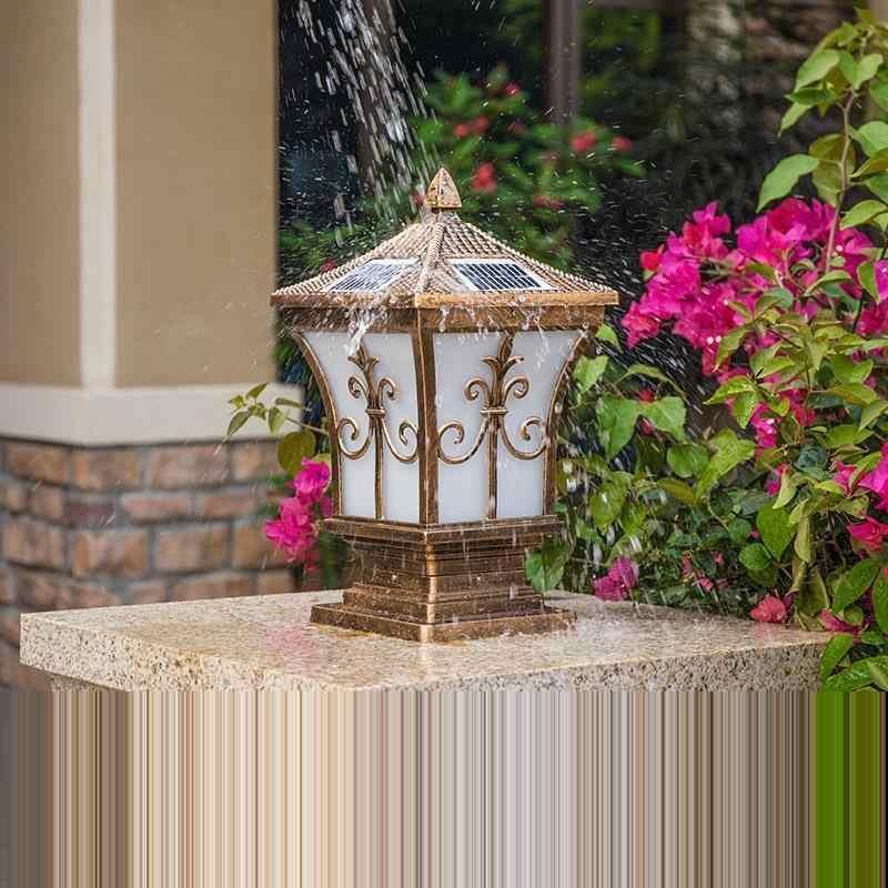 Bancone бар фигурка деко аквариум уличный светильник Exterieur освещение Terraza Y Jardin Decoracion Солнечный фонарь для ландшафтного сада