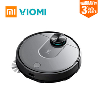 XIAOMI VIOMI V2 600ml Robot Vacuum Cleaner Laser Navigation Slam Route Planning Smart Cleaning Dust Collector APP Control Home