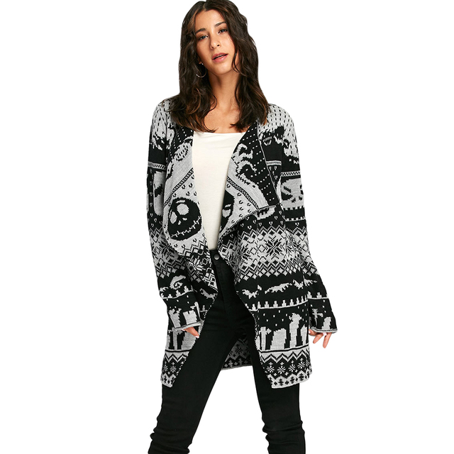 8e5fe05982925 ... Autumn Winter Women Long Sweaters Open Stitch Knitted Outwear Female  Cardigan-in Cardigans from Women s Clothing on Aliexpress.com