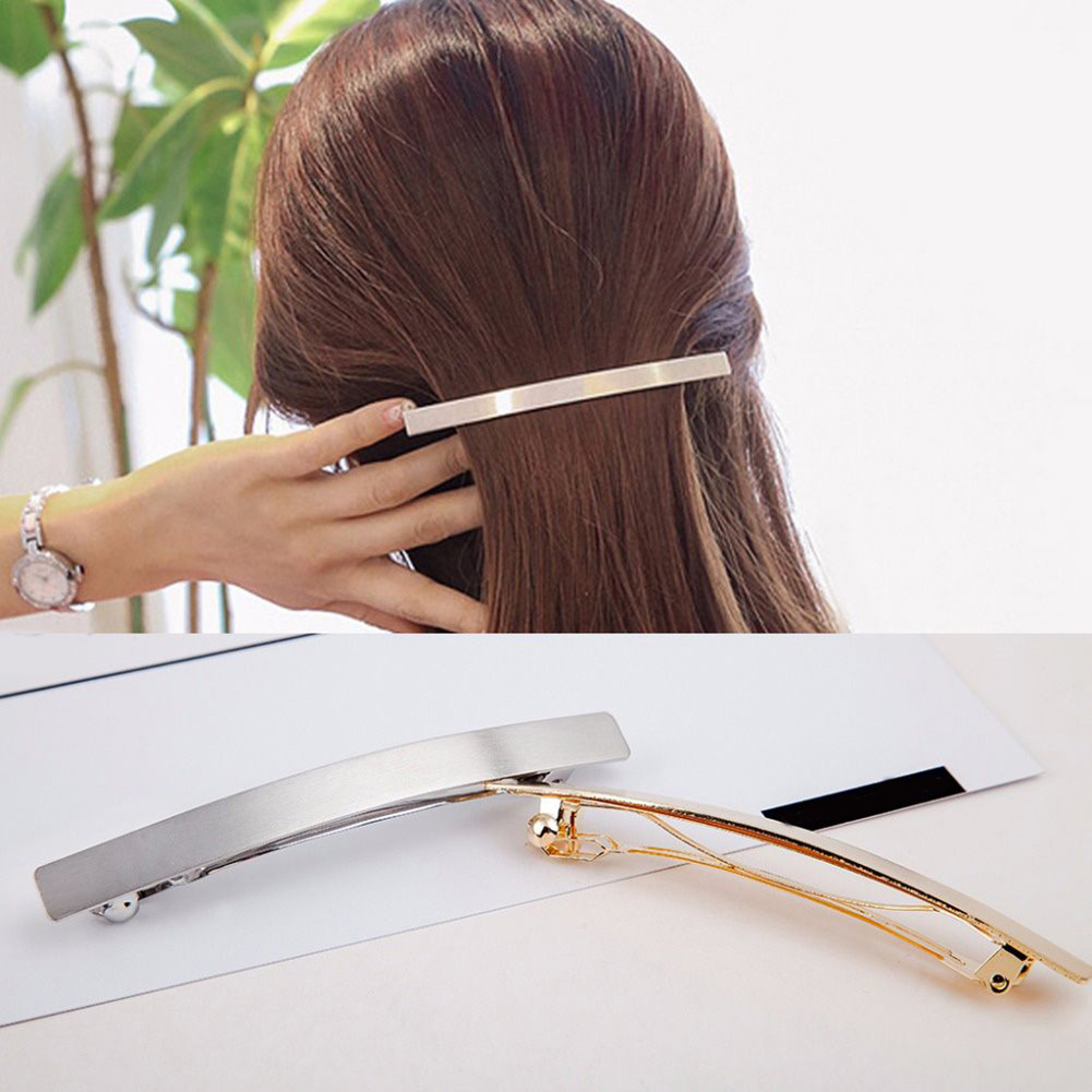 Fashion 1 PC Metal Long Strip Hairpins Women Hair Clips Barrette Bobby Pins Girls Hairgrip Hair Accessories Headdress