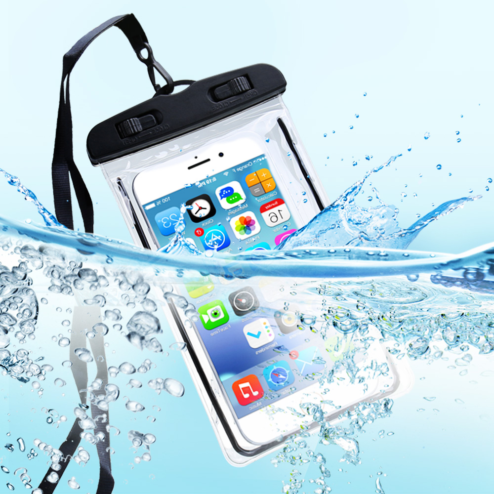 KISSCASE Luminous Waterproof Case For Samsung Galaxy S10 Plus Pouch Phone Bag Case For iPhone X XS XR 7 8 Photography Underwater in Phone Pouches from Cellphones Telecommunications