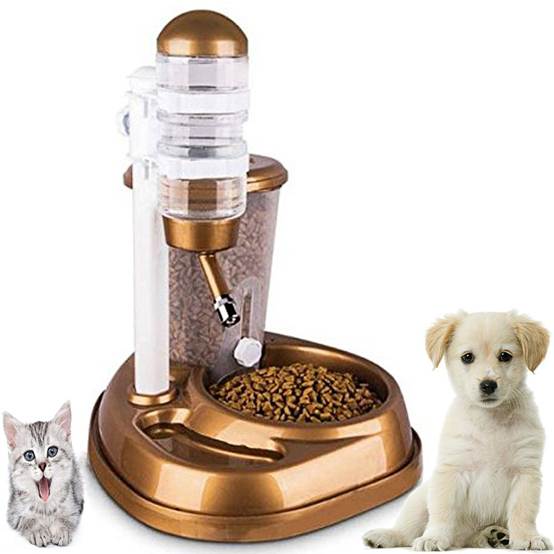 New 2 in 1 font b Pet b font Automatic Drinking Fountain Large Capacity Cat Dog