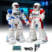 Remote Control Robot Electric Smart Early Learning Singing Dance RC Gesture Control Smart Robot Toy For Kids Birthday Gift