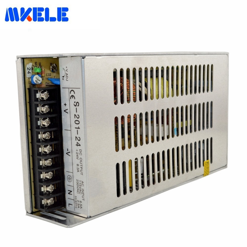 Ac 110C 220V To Dc 5V 12V 24V 48V Switching Power Supply 201W For LED Strip Light Single Output Uninterruptible Adjustable SMPS ac 110v 220v to dc switching power supply 200w 48v 4 2a uninterruptible adjustable for led strip light