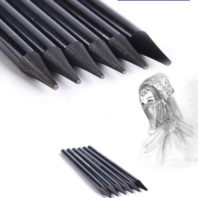 Brown Pastel Charcoal Drawing Sketch Pencil Art Artist Craft School Supplies