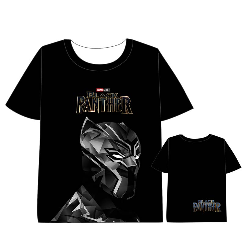 Hot New Marvel Comics Black Panther movie T shirt Men Women Short Sleeve Summe dress Cosplay Costumes Tops Unisex t shirt in T Shirts from Men 39 s Clothing