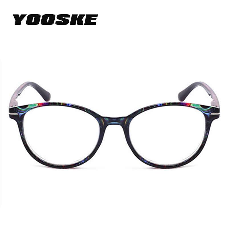 db2245c2b2 ... YOOSKE Brand Unbreakable Reading Glasses Women Men Resin Glasses  Transparent Spectacles Vintage Round Clear Reading Eyeglasses ...