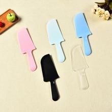 Распродажа, новинка, популярная пластиковая лопатка для помадного торта, кондитерский нож для торта, нож для кремового торта, ровный разбрызгиватель глазури, инструмент Diy