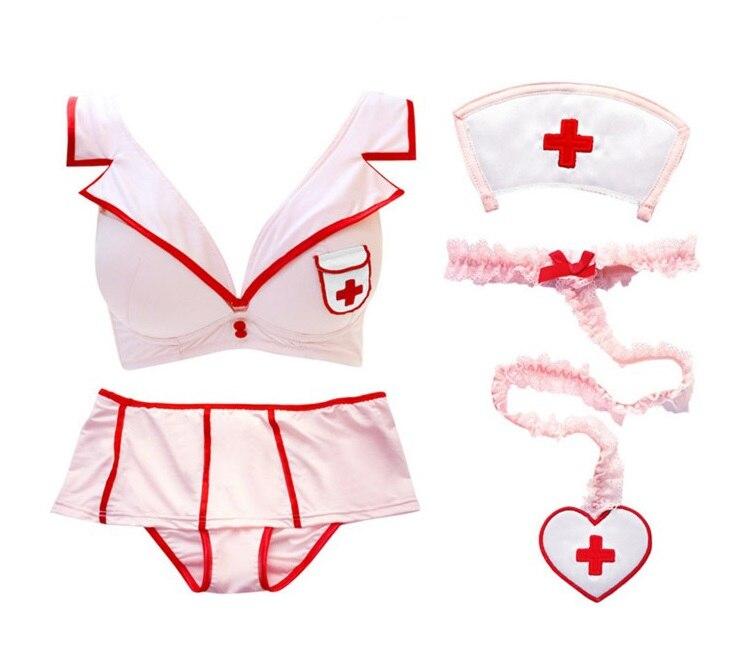 Sexy Kawaii Pink Nurse Cosplay Uniform 1