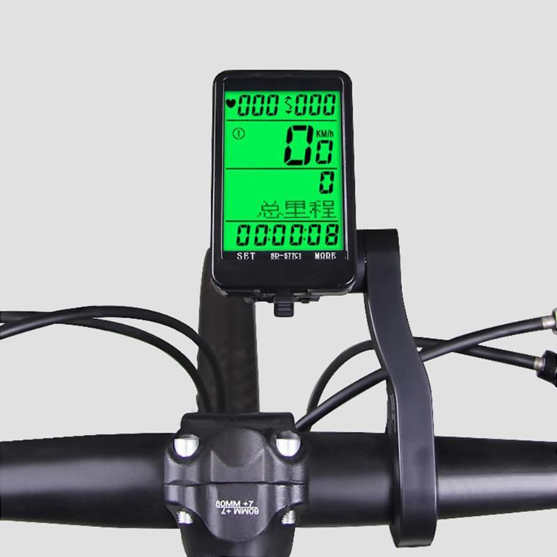 1 Pc SD-689 Multifunction Bike Handlebar Extension Bicycle Computer Bell Bracket Lamp Extender Mount Holder 2019 New Arrival