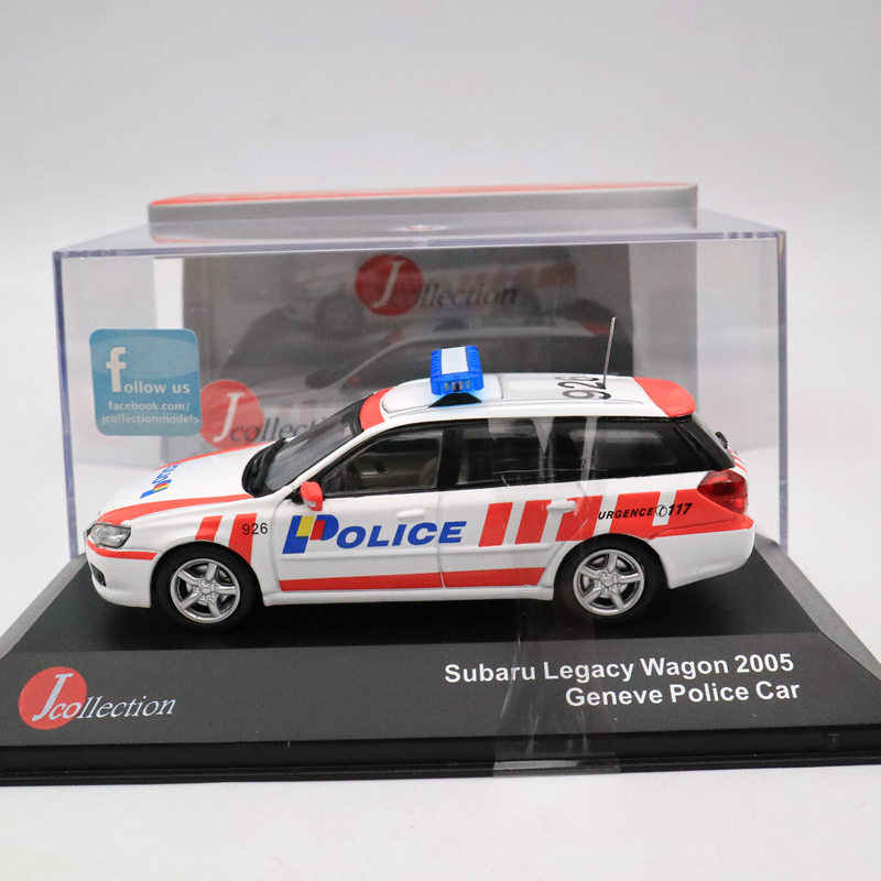 J Collection 1:43 SUBARU Legacy Wagon 2005 Geneve Polices Models Car JC228 Diecast Toys Limited Edition Collection