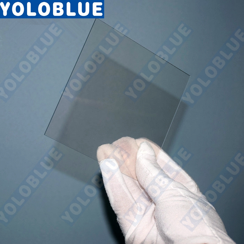 100x100x2.2mm, <8ohm/sq, 12pcs/lot Lab Transparent Conductive Fluorine Doped Tin Oxide (FTO) Coated Glass