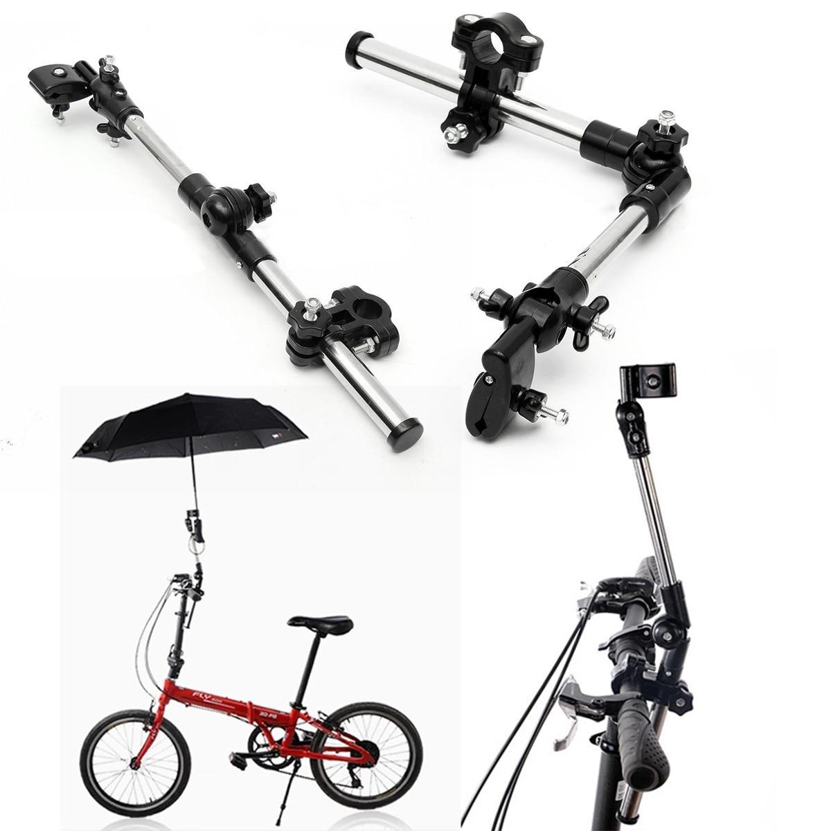 1pcs New Bike Umbrella Holder Universal Bicycle Umbrella Holder Stand Child Baby Cart Wheelchair