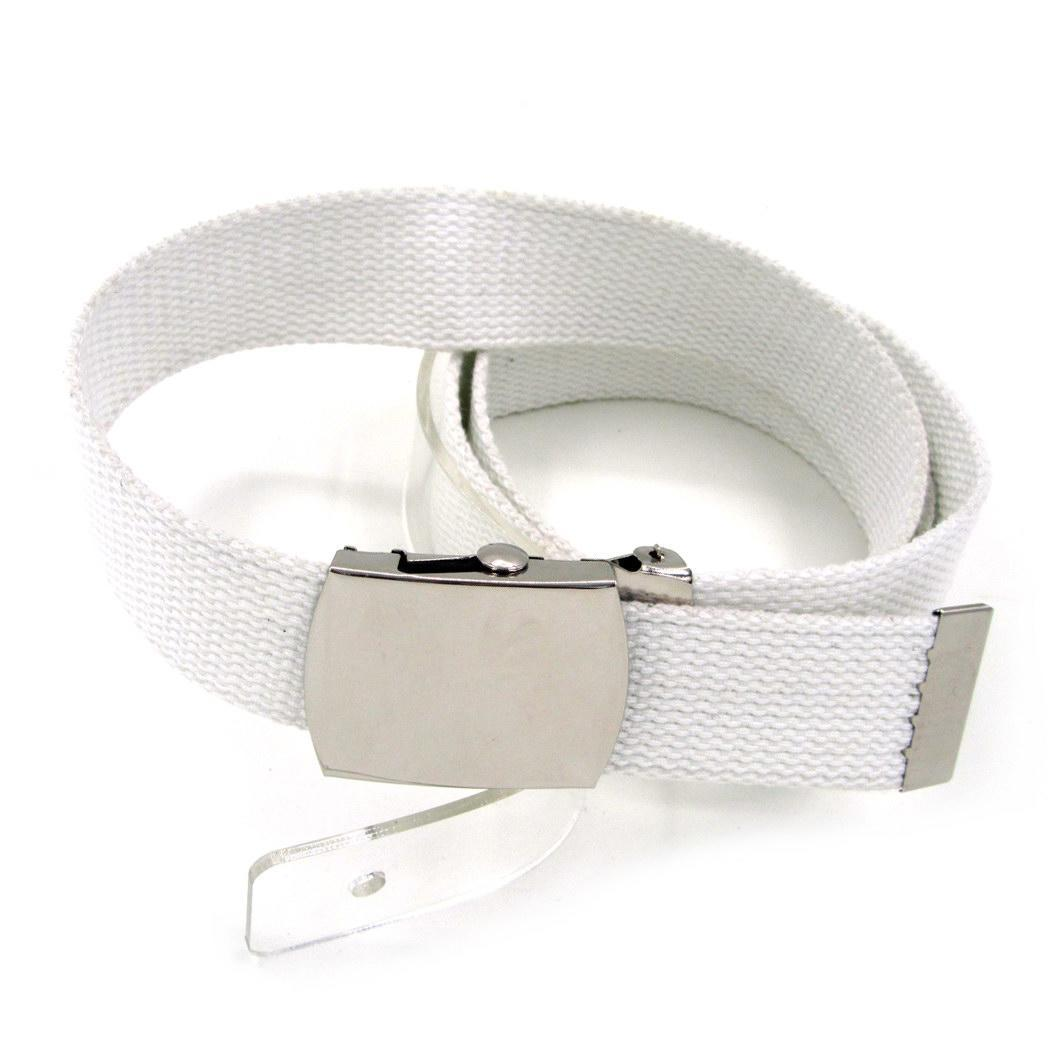 None Unisex Fashion Solid Square Shape Automatic Buckle Braid Waist   Belt   Casual