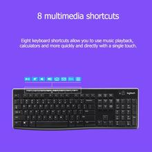 Беспроводная клавиатура с мышью от lotech MK270, 2,4 ГГц, без выпадения, с длительным сроком службы батареи, беспроводная мышь Keybaord