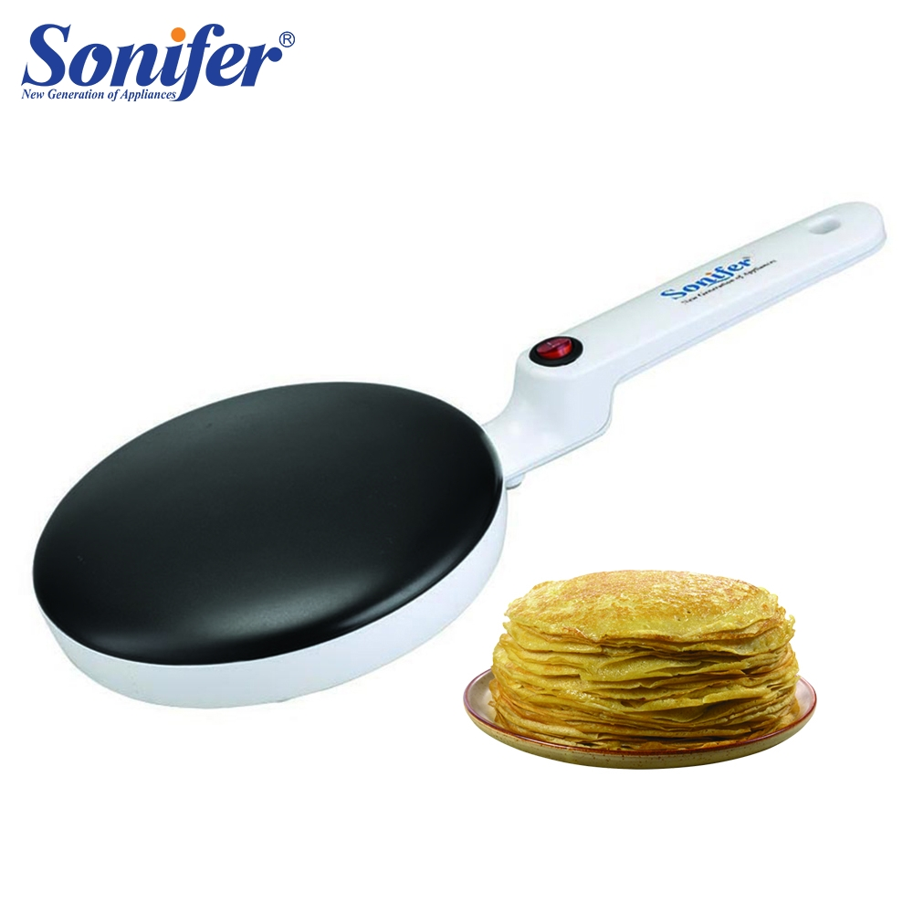 Elektrische Crepe Maker Pizza Pfannkuchen Maschine Non-stick Bratpfanne backform Kuchen maschine küche kochen werkzeuge sonifer