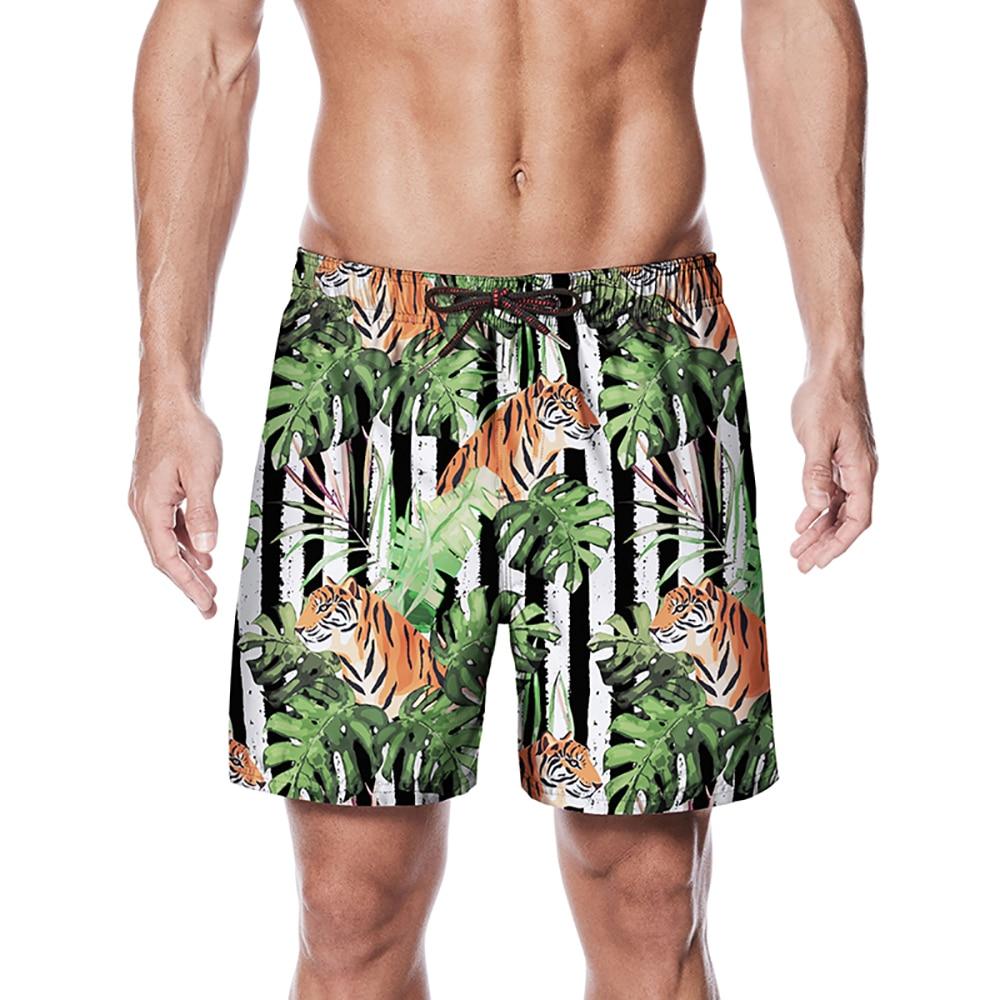 2019 Summer Wholesale Quick Dry Summer Mens Siwmwear Mens Beach Board Shorts Briefs For Men Swim Trunks Swim Shorts Beach Wear