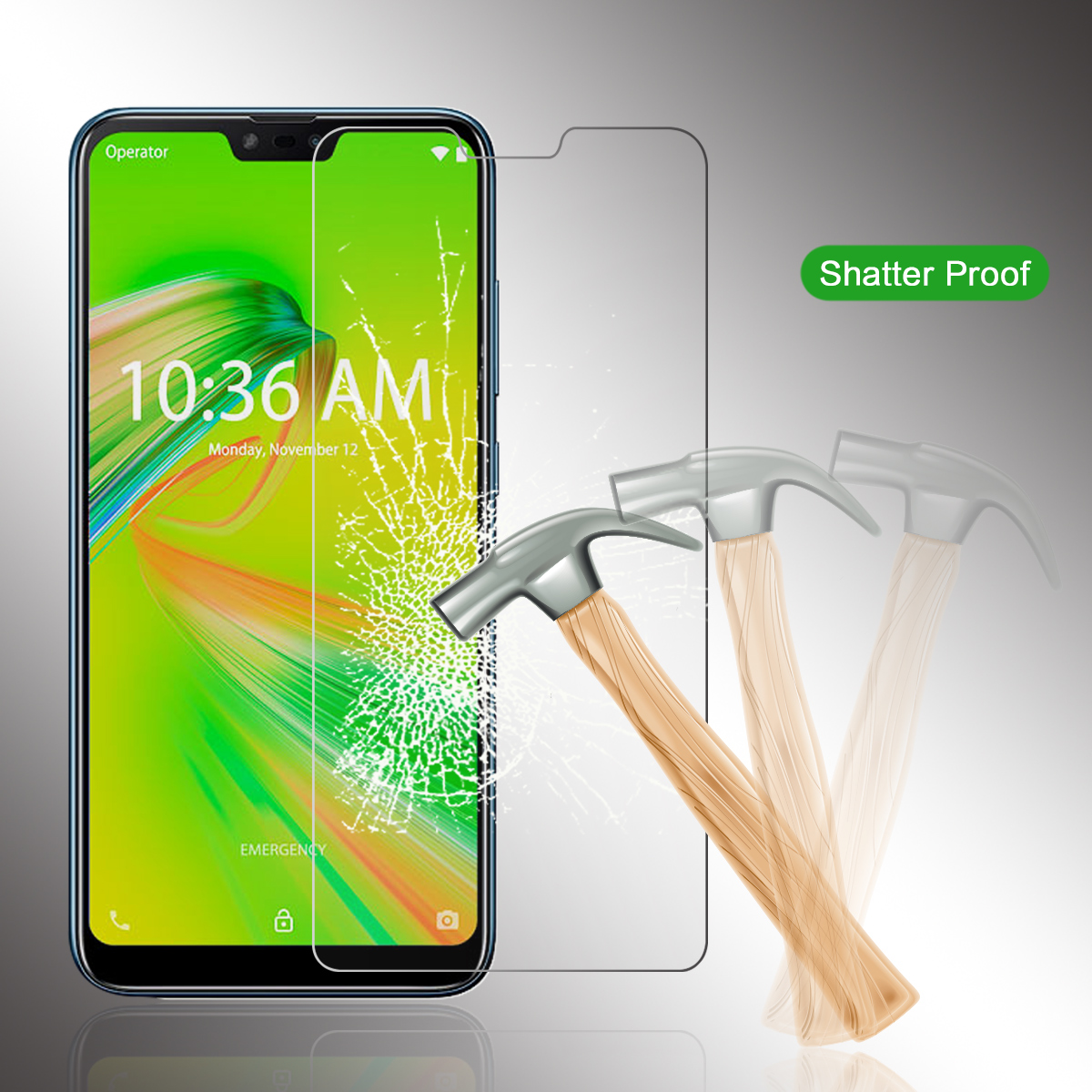 9H Screen Protector For Asus Zenfone Max Shot ZB634KL Tempered Glass Anti scratch Film For Asus Zenfone Max Shot Protective Film in Phone Screen Protectors from Cellphones Telecommunications