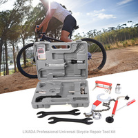 Lixada Professional Universal Home Outdoor Multi function Purpose Bike Bicycle Repair Tool Kit Set With Case