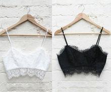 Spring Newest Women Ladies Strap Solid Vest Bralette Bra Brassiere Push Up Sexy Lace BraUnderwear Top