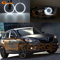 For mazda cx 5 cx 5 2013 2014 2015 Excellent angel eyes Ultra bright illumination CCFL Angel Eyes kit Halo Ring