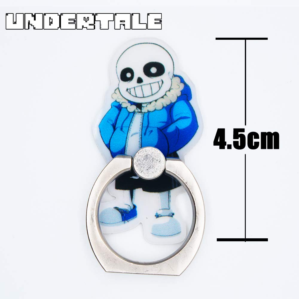 OHCOMICS Hot Anime Game Undertale Cute Sans Papyrus 360 Degrees Square Ring Stand Mount Holder Mobile Phone Stents Phonerings
