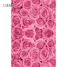 Laeacco Rose Pattern Backdrop Wedding Bridal Party Photography Backgrounds Customized Photographic Backdrops For Photo Studio 10x10ft 3x3m scenic muslin backgrounds photography photo studio backdrops hand painted flower muslin backdrop wedding
