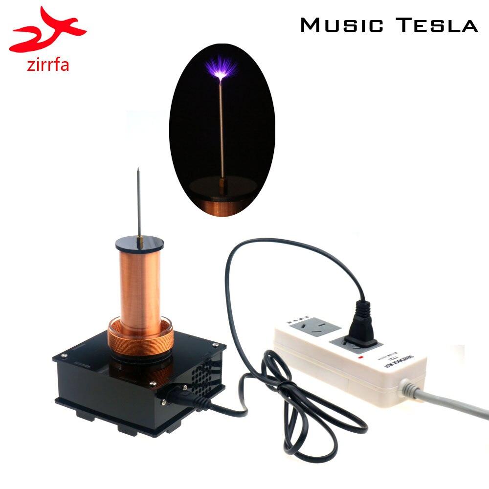 2019 nouvelle musique Tesla bobine sans fil Transmission musique plasma haut-parleur, bobine Tesla, kit de bricolage électronique fini - 4