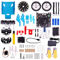 Raspberry Pi TrikeBot Smart Robot Car Kit Programmable Learning with HD Camera Video DIY Robot Model Building Block Kit 2019