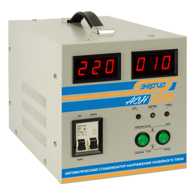 Voltage stabilizer Energy ASN-5000 voltage stabilizer energy asn 1000
