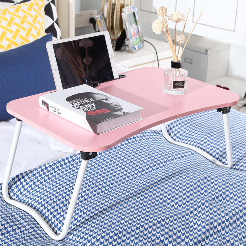 Bed Desk Simple And Easy Dormitory Dawdler Table Bed Use Notebook Computer Table Foldable More Function Table You