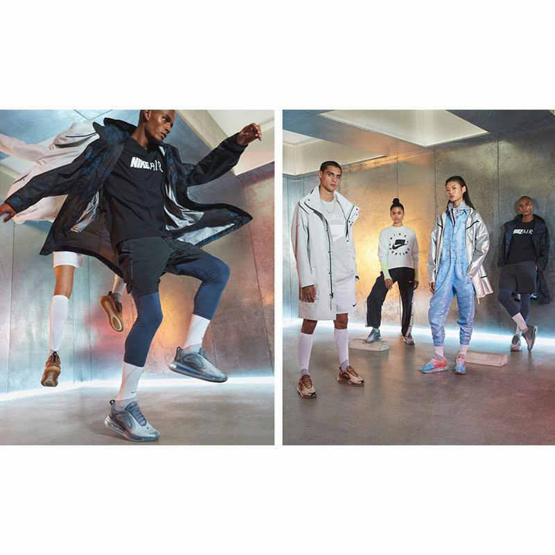 نايك الجوية ماكس 720 امرأة احذية الجري الأصلي تنفس المضادة للانزلاق حذاء الرياضة في الهواء الطلق وسادة هوائية أحذية # AO2924