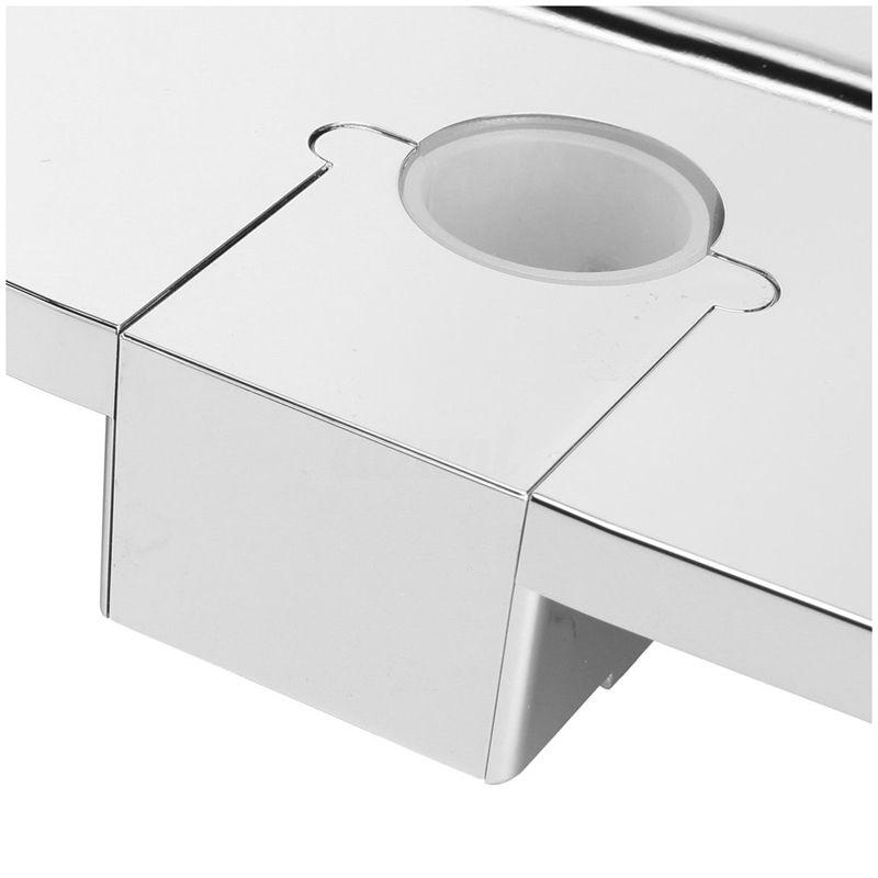 Bathroom Pole Shelf Shower Storage Caddy Rack Organiser Tray Holder, Dia 24Mm Pakistan