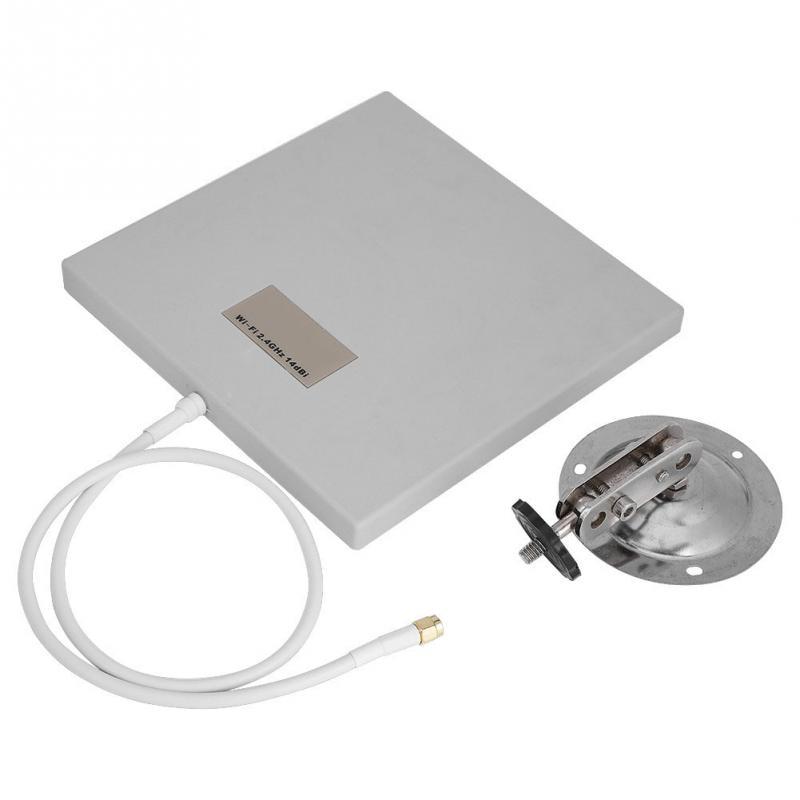 2.4Ghz 14 dbi wifi Antenna Panel High Gain WiFi Extender Directional Long Range High Quality Aluminum Antenna