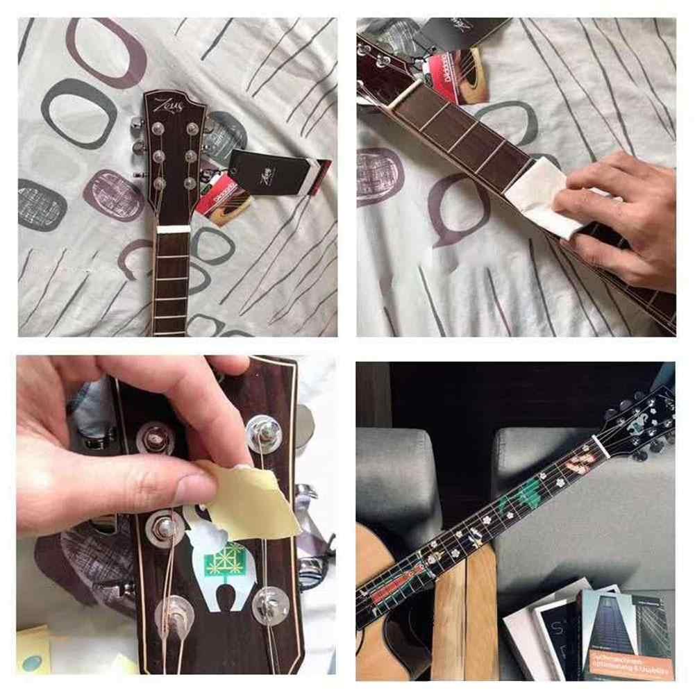 Gitara podstrunnica podstrunnica wkładka naklejki gitara naklejki pcv Guitarra dekoracji dla elektryczna i akustyczna gitara akcesoria gitara basowa
