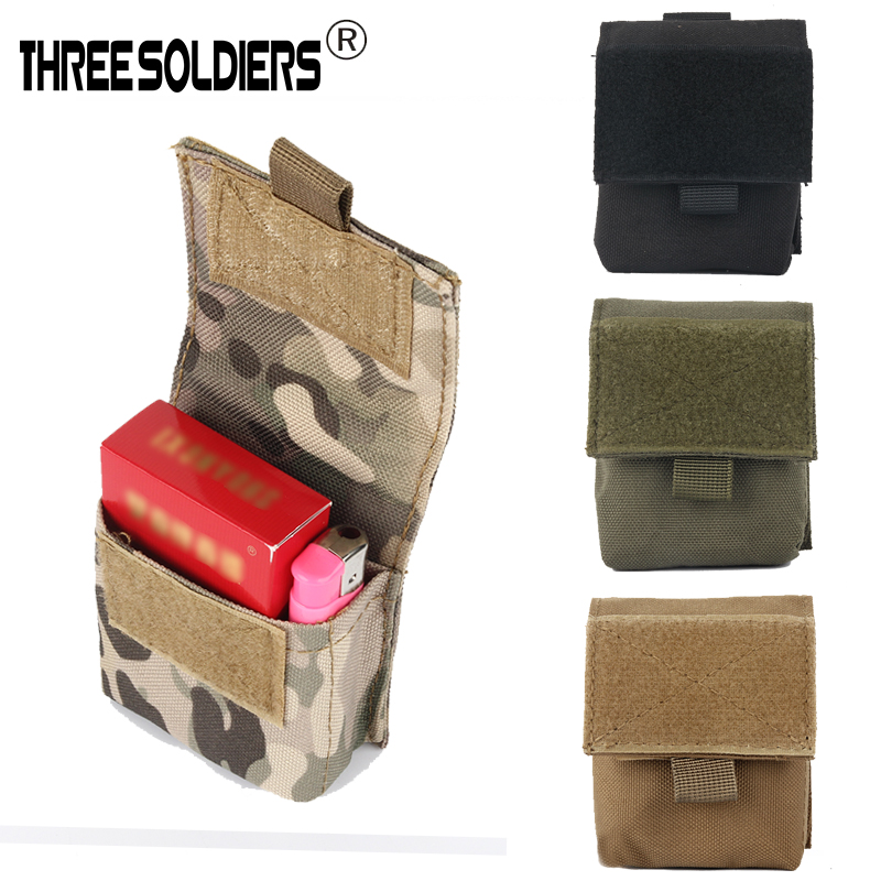 Tactical Cigarette Molle Case Bag Sundries Bag MOLLE BAG Compact EDC Pouch Tactical Organizer Easy Carrying Running Bag