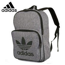 Adidas New Arrival Original Class Unisex Backpacks Grey Comfortable Sports  Bags  CD6058(China) 8623319b84833