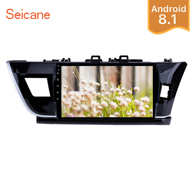 Seicane Android 8 1 10 1 HD Touchscreen Car Radio GPS Navigation System For 2014 Toyota