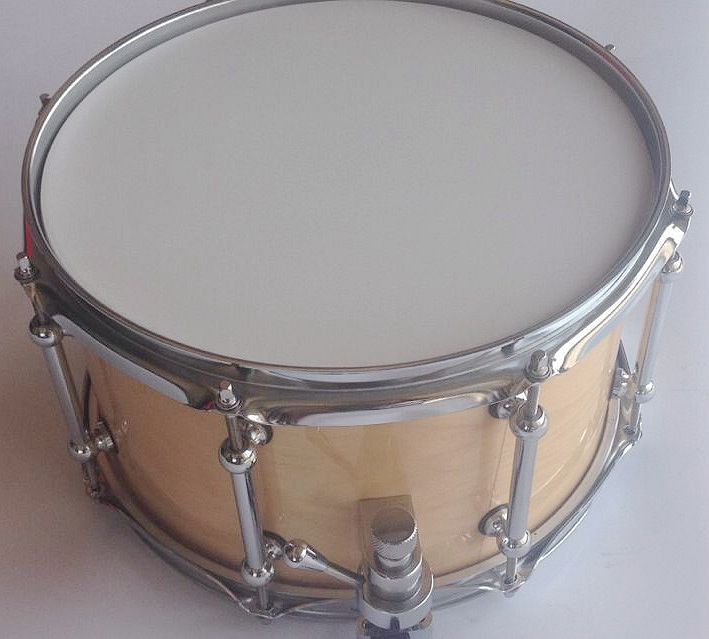 12inch snare drum Beach wood